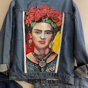 Frida Khalo Denim Jacket
