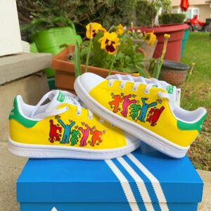 Keith Haring - Adidas Stan Smith Sneakers